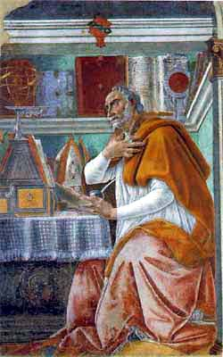 St Augustine of Hippo (364-430)